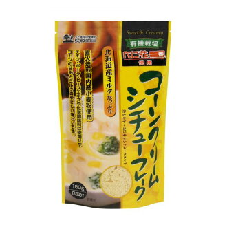 Corn cream stew flake 180 g one piece of article [cancellation, change, returned goods impossibility]