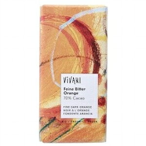 VIVANI オーガニック ダークチョコ オレンジ 100g 単品 [キャンセル・変更・返品不可]