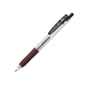 ジェルボールペン サラサクリップ0.4 [茶] 0.4mm JJS15-E