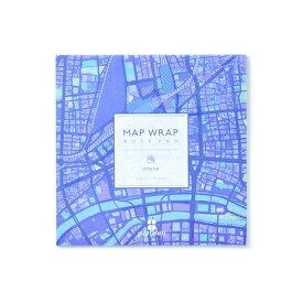 [ゼンリン] MAP WRAP NOTEPAD ノート [mati mati シリーズ 梅田] [キャンセル・変更・返品不可]