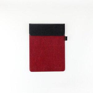 [日本出版] クリップボード Greeful S ブラック×ワイン A5 641997 [キャンセル・変更・返品不可]