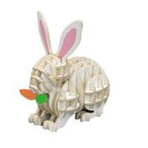 紙製パズル si-gu-mi PLUS ウサギ [キャンセル・変更・返品不可]