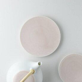 深山(miyama.) casane te-かさね茶器- 菓子皿 桜柄・桃釉 [キャンセル・変更・返品不可]