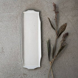 寿山窯 rim リム ロング M(29x10cm) ホワイトアッシュ [キャンセル・変更・返品不可]
