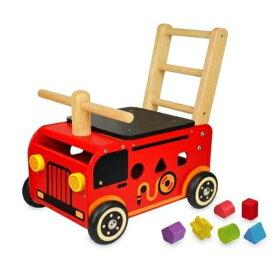 エデュテ I'm TOY(アイムトイ) ウォーカーライド消防車 IM-87480 [対象年齢12ヶ月〜]