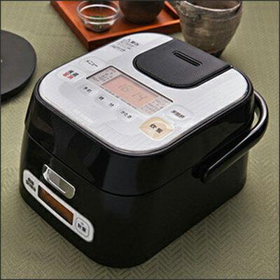 【アイリスオーヤマ 米屋の旨み 銘柄量り炊き IHジャー炊飯器 3合 RC-IA30-B】[返品・交換・キャンセル不可]