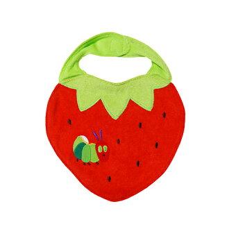 餓餓的毛毛蟲和嬰兒圍嘴草莓 11520 資料包可用
