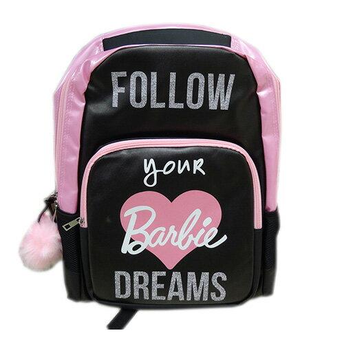バービー バックパック DREAMS 11595 Barbie リュックサック バッグ バック リュック 鞄 かばん ブラック ピンク ふわふわ チャーム ドリーム 女の子 キャラクター 雑貨 グッズ 海外 輸入 インポート メール便不可【ds】
