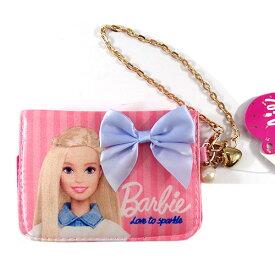 バービー Barbie サテンパスケース ライトピンク 11655 Barbie パスケース 定期入れ 通勤 通学 定期 財布 送料込み メール便配送