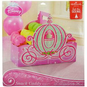 ディズニープリンセス スナックキャディ 11802 ディズニー お菓子入れ 誕生日会 箱 食器 馬車 パーティー 女の子 キャラクター グッズ