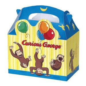 おさるのジョージ ルートボックス 4枚入り 11941 キュリアスジョージ Curious George 組み立て 箱 ボックス BOX ケース 紙 ギフトボックス 4 Loot Boxes お菓子 スイーツ バレンタイン 送料無料 メール