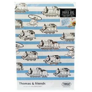トーマス ペーパーバッグ クラシカル 5枚入り 13586 フラットバッグ 平袋 紙袋 ラッピング 包装 紙袋 お菓子 メール便配送