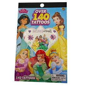プリンセス タトゥーブック OVER 140 TATTOOS 13592 Disney Princess シール ステッカー タトゥーシール 女の子 パーティー イベント お祭り グッズ 輸入 インポート メール便配送
