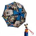 ミッキー フィギュア付き 40cm 傘 14198 キッズ こども 子ども カサ ダイカット 雨具 総柄 ディズニー Disney 男の子 …