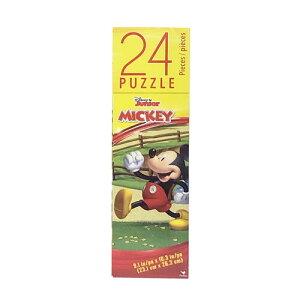 ミッキー (A) 24ピース パズル 14411a ジグソーパズル ディズニー ミッキーマウス ドナルド グーフィー クラブハウス おもちゃ 知育玩具 男の子 幼稚園 保育園 キャラクター グッズ 輸入品 イン