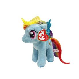 マイリトルポニー ぬいぐるみ M (レインボーダッシュ) 9500 My Little Pony ty Beanie Babies ビーニーベイビーズ 人形 かわいい おもちゃ トモダチは魔法 キャラクター 雑貨 グッズ メール便不可