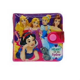 ディズニープリンセス グッズ 財布 13678 キッズ 二つ折り パープル DisneyPrincess さいふ ウォレット 子供用 メール便配送