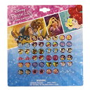 ディズニープリンセス 48P ピアスシールセット 13809 Disney Princess シール イヤリング ステッカー キッズアクセサ…