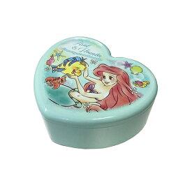 アリエル ハート型 ジュエリーボックス 13970 ジュエリー BOX アクセサリー 収納 ミラー 鏡付き 宝箱 キャラクター ディズニープリンセス プリンセス かわいい 女の子 ジュエリーケース アクセサリーケース キッズ 景品 プレゼント メール便不可