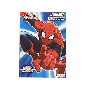 スパイダーマン ぬりえ カラーリングブック 14087a 輸入品 インポート Disney ディズニー ぬり絵 英語 知育玩具 海外 マーベル MAVEL 男の子 おもちゃ キャラクター 雑貨 グッズ 景品 プレゼント