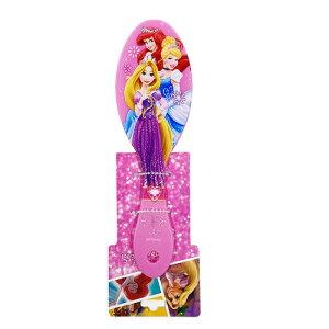 ディズニープリンセス ヘアブラシ (3プリティアラ ピンク) 15253 ブラシ ラプンツェル ディズニー プリンセス Disney くし ピンク ヘアメイク クシ 景品 かわいい 女の子 幼児 子ども キャラクタ