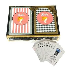 バービー トランプ ダブルデック(2組) ボックス入り 8196 Barbie Playing Cards プレイングカード カードゲーム おもちゃ グッズ キャラクター かわいい 女の子 パーティーグッズ ギフト プレゼント 誕生日 輸入 インポート 送料無料 メール便配送【h_game】