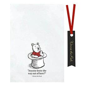 くまのプーさん シースルーバッグ (S) ハット 6枚入り DP571 14890 プーさん POOH ラッピング 袋 透明 クリア キャラクター バレンタイン インディゴ ワイヤータイ お菓子 かわいい 雑貨 グッズ ディズニー ラッピンググッズ ラッピング用品