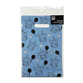 エイリアン デイリーバッグ (S) エイリアン/バルーン 10枚入り DP481 14917 トイストーリー リトルグリーンメン ミニサイズ 手提げ かっこいい 簡易包装 キャラクター かわいい 男の子 Disney お菓子袋 ラッピング 袋 プレゼント インディゴ 包装 ラッピング用品