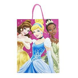 ディズニープリンセス ペーパー トートバッグ 14970 ギフトバッグ ギフトバック バッグ Disney ラッピング 袋 プレゼント 女の子 ベル シンデレラ 子供会 景品 キャラクター おみやげ袋 メール便配送