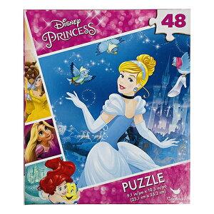 ディズニープリンセス パズル 24ピース ( シンデレラ ) 15720a ジグソーパズル 易しい おおきい 知育 おうち遊び 並べる ディズニー プリンセス 子供 あそび キッズ おもちゃ 幼児 未就園児 幼稚