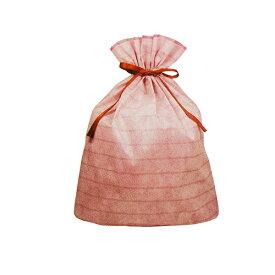 ラッピング 袋 大 ギフトバッグ 不織布 リボン付き ( ボーダー LL 赤 レッド ) 14780-red 底 マチあり 底マチ 大きいサイズ おおきいサイズ 一枚 単品 巾着 袋 巾着袋 ラッピンググッズ ラッピング用品 ギフト プレゼント 包装 グッズ