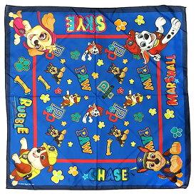 パウパトロール バンダナ 15436 パウパト グッズ スカーフ 三角巾 ランチクロス pawpatrol 犬 DOG キャラクター 子供 キッズ 大人 ペット 雑貨 おしゃれ かわいい 輸入品 インポート アメリカ 海外 男の子 女の子 男子 女子 Bandana