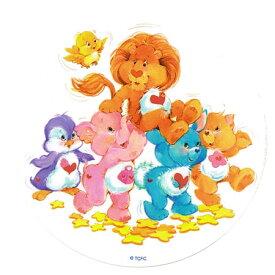 ケアベア(Care Bears) カズンズステッカー Lion Hero 3963 シール ライオン ペンギン ゾウ ウサギ ネコ キャラクター 雑貨 グッズ 海外 輸入 インポート 送料無料 メール便配送