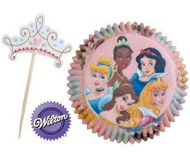 ディズニープリンセス カップケーキコンボパック 5969 Wilton インポート グッズ 製菓 パーティー ウィルトン メール便不可