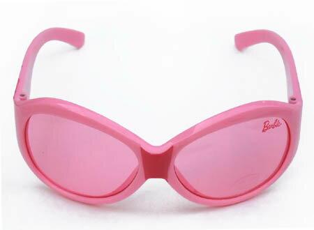 【クーポン配布中】バービー Barbie キッズサングラス ピンク 6388 子供 子ども こども キッズ 女の子 3歳 4歳 かわいい UVカット キャラクター 雑貨 グッズ ファッション 小物 おしゃれ メール便不可