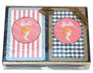 バービー トランプセット ボックス入り 8196 Barbie トランプ カードゲーム おもちゃ レトロ キャラクター かわいい 女の子 パーティーグッズ ギフト プレゼント 誕生日 輸入 インポート 送料無