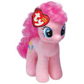 マイリトルポニー ぬいぐるみ M (ピンキーパイ) 9498 My Little Pony Pinkie Pie ty Beanie Babies ビーニーベイビーズ 人形 かわいい トモダチは魔法 キャラクター 雑貨 グッズ おもちゃ メール便不可