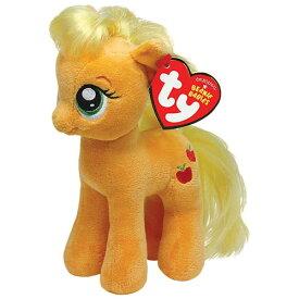 マイリトルポニー ぬいぐるみ M (アップルジャック) 9502 My Little Pony Applejack ty Beanie Babies ビーニーベイビーズ 人形 かわいい トモダチは魔法 キャラクター 雑貨 グッズ メール便不可