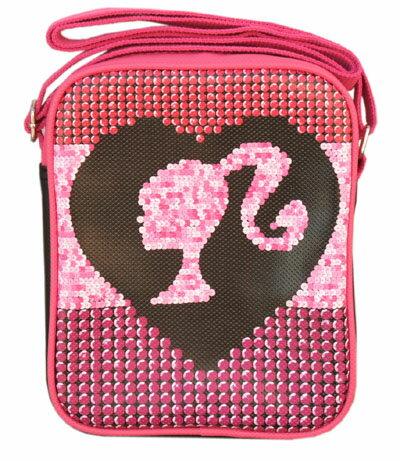 バービー Barbie ショルダーバッグ シルエットスパンコール 9702 バック 鞄 かばん 女の子 キャラクター グッズ メール便不可