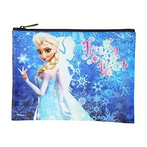 アナと雪の女王 フラットポーチ エルサ 9856 FROZEN アナ雪 エルサ ディズニー 女の子 かわいい キャラクター 雑貨 グッズ 送料込み メール便配送