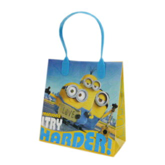 SALE! Yu minion gift bag blue 10656b gift bag packaging wrapping toy packets available