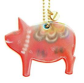 FIREFLY NEWYORK リフレクター ブタ FIRE-F1038 メール便配送 ファイヤーフライ 反射マスコット キーホルダー 交通安全 SAFETY REFLECTORS 3M Scotchlite スリーエム スコッチライト 輸入 ぶた 豚 Pig かわいい おしゃれ プレゼント グッズ pud190