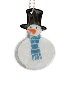 FIREFLY NEWYORK リフレクター スノーマン FIRE-F1015 メール便配送 ファイヤーフライ 反射マスコット キーホルダー 交通安全 SAFETY REFLECTORS 3M Scotchlite スリーエム スコッチライト 輸入 雪だるま Snowman かわいい おしゃれ プレゼント グッズ pud181