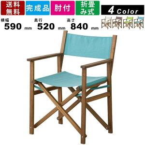 チェア NX-601 パティオ ディレクターチェア チェアー 椅子 いす ガーデンチェア デッキチェアー 庭 アウトドア BBQ キャンプ ガーデンファニチャー レジャーシート 折り畳み 折りたたみ アー