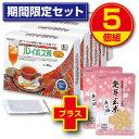 【送料無料】ルイボス茶 60袋(5個組・300袋) 【有機JAS認定】 オーガニックルイボスティー 発芽玄米2パック付