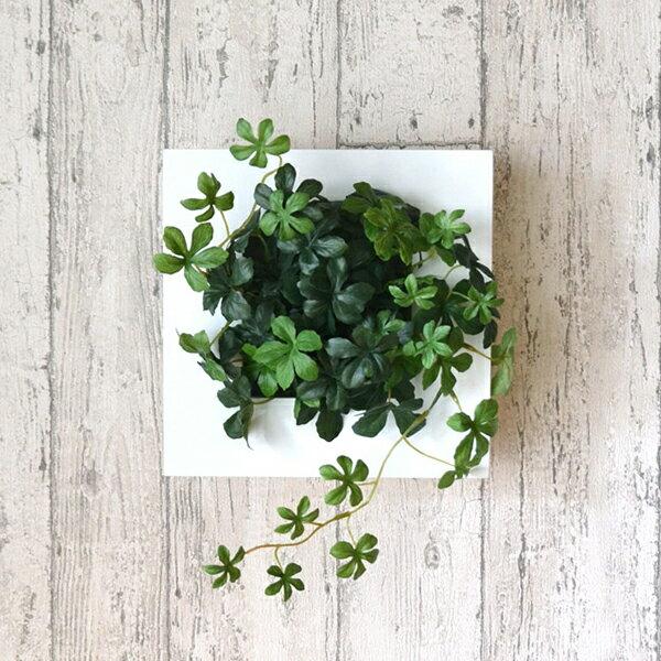 フェイクグリーン 人工観葉植物 造花 壁掛け シュガーバイン ウォールデコS GREENPARK