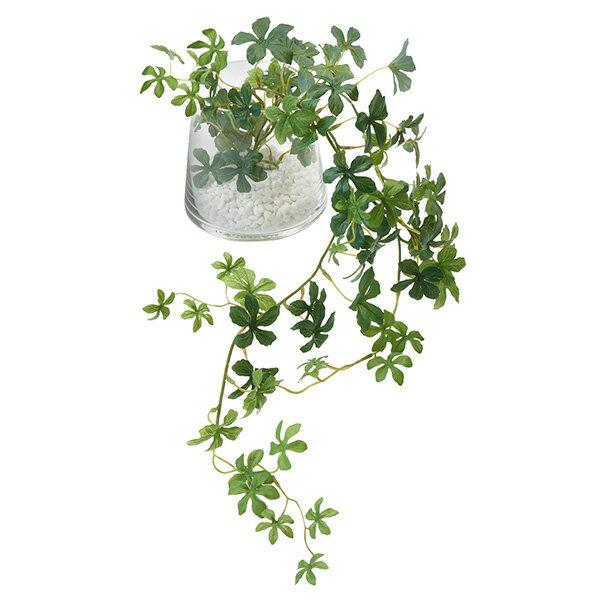 シュガーバイン 白玉石 ガラストラペゾイド 人工観葉植物 フェイクグリーン 造花 GREENPARK