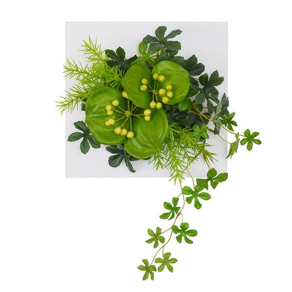 シュガーバイン×サンキライ ウォールデコS 人工観葉植物 フェイクグリーン 造花 GREENPARK
