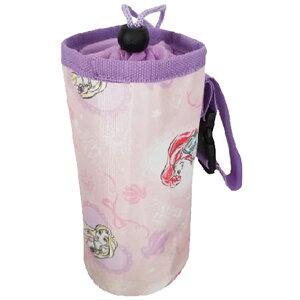 ペットボトルホルダー ペットボトルカバー 保冷 かわいい ディズニー グッズ プリンセス キャラクター 雑貨 パープルB メール便可