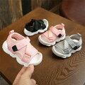 赤ちゃん・ベビー用かわいいベルクロストラップキッズサンダル赤ちゃん靴夏男の子女の子マジックテープおしゃれつま先ガード
